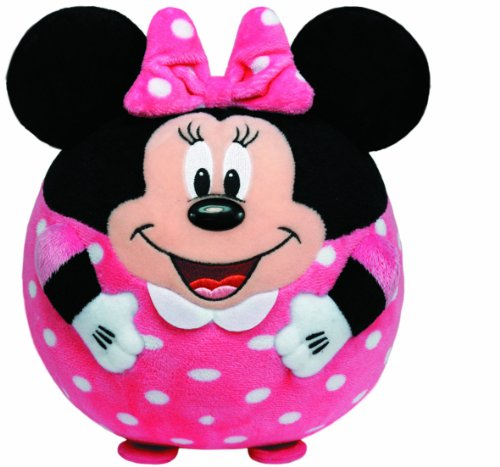 Ty Beanie Ballz Minnie Mouse Plush