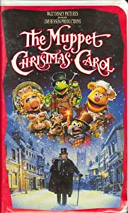 The Muppet Christmas Carol Clamshell Case Vhs Video from Jim Henson / Disney