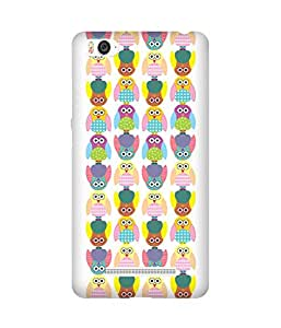 Stripes And Elephant Print-1 Xiaomi Mi 4i Case