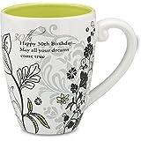 Mark My Words 30th Birthday Mug, 4-3/4-Inch, 17-Ounce Capacity