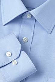 Ultimate Non-Iron Pure Cotton Pinpoint Shirt [T11-1066W-S]