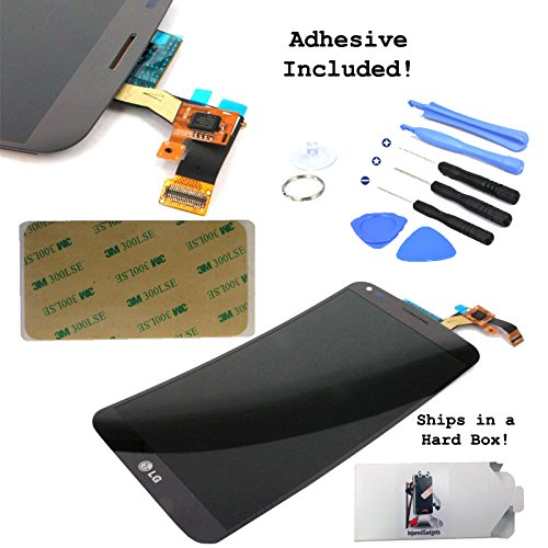 Black Lcd Display Touch Screen Glass Panel Digitizer Assembly Repair Part For Lg G Flex D950 D955 D958 D959 F340 Ls995 (Adhesive + Tools Included)