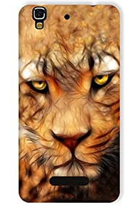 IndiaRangDe Printed Back Cover Case For Micromax YU Yureka