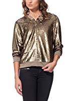 LABEL EIGHT Chaqueta Sequin Metallic Sequin (Dorado)