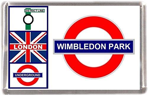 Kühlschrankmagnet London U-Bahn Wimbledon Park Geschenk Tourist Souvenir Mit Englisch Wörter