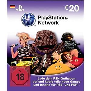 PlayStation Network Card - Deutschland