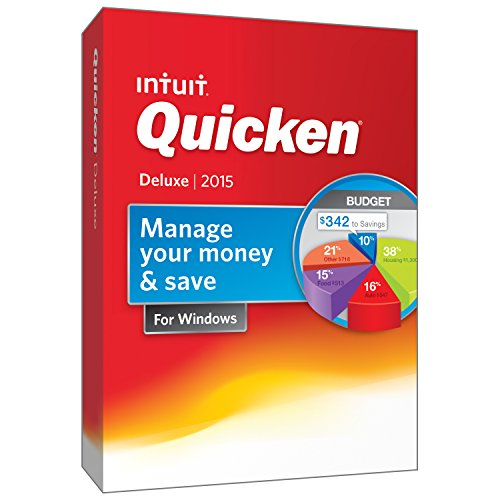 Quicken Deluxe Personal Finance & Budgeting Software 2015 [Old Version] (Budget Software 2015 compare prices)