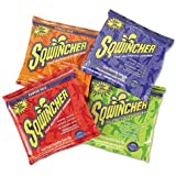 Sqwincher Powder Concentrate Electrolyte Replacement Beverage Mix, 2.5 gal, Assorted 016044-AS (Case of 32)