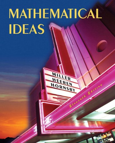 Mathematical Ideas plus MyMathLab Student Access Kit...