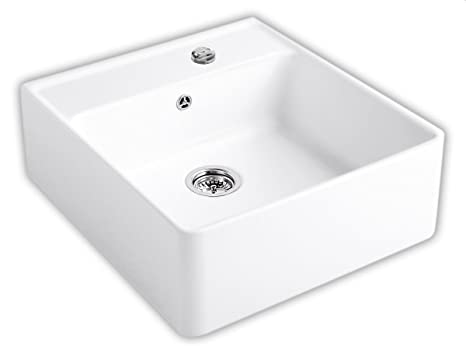 Villeroy & Boch Sink/Single Bowl Sink/Single Bowl Snow White Ceramicplus