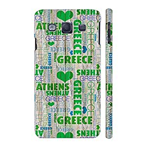 Enthopia Designer Hardshell Case In Love with Greece? Back Cover for Samsung Galaxy S3 Neo