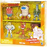 "Nicktoons Ren And Stimpy 2"" Deluxe Collector Figure Set, 6-Pack"