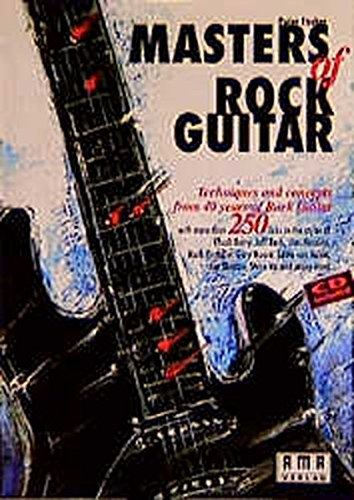 Masters of Rock Guitar (Book/CD Set) by Peter Fischer (1995-09-01)