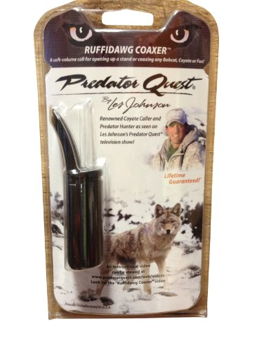 Review Predator Quest - Ruffidawg Coaxer - Les Johnson - Predator Call - Coyote Hunting