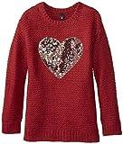 Jessica Simpson Big Girls Suzie Heart Graphic Sweater 6 Pack