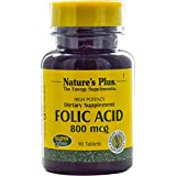NATURE'S PLUS - 90COMP FOLIC ACID. N.PLUS