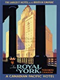 TRAVEL TOURISM ROYAL YORK HOTEL TORONTO CANADA VACATION ART PRINT POSTER 30X40 CM 12X16 IN BB7620B