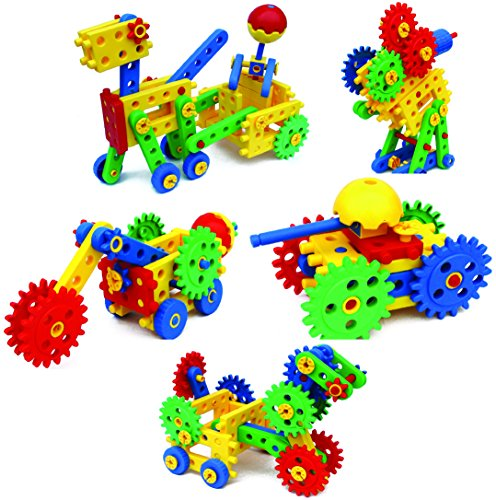 Gear Building Toys For Boys : Eti toys ultimate blocks gears for boys and girls