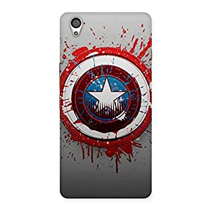 Voila Blood and Sheild Back Case Cover for OnePlus X