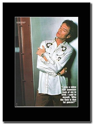 Glenn Hughes-Grasso Non Geezer Magazine Promo su un nero Mount