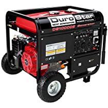 Hot Sale Durostar DS10000E 16 HP Gasoline Powered Electric Start Portable Generator with Wheel Kit, 10000-watt, EPA Approved