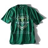 [2L・3L・4L・5L・6L]AZ DEUX 刺繍&プリント半袖Tシャツ(IN CASE OF EMERGENCY) azpt-1483 大きいサイズ メンズ