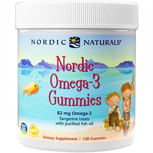 Nordic Naturals Nordic Omega-3 Gummies - Tangerine Treats - 120 ct