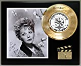 I LOVE LUCY LTD EDITION SIGNATURE AND LASER ETCHED THEME SONG LYRICS DISPLAY