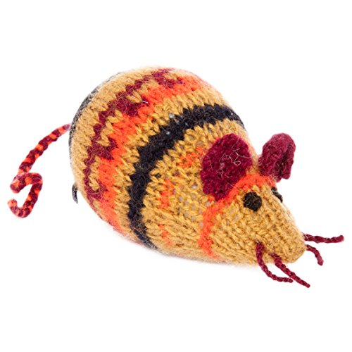 Sitara Collections® Hand-knitted Plush Mouse - 1