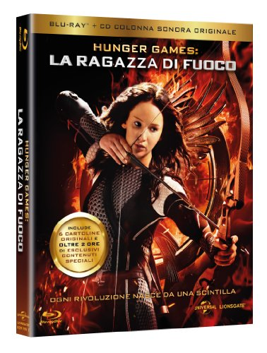 La Ragazza di Fuoco - The Hunger Games (Blu-Ray + Colonna Sonora) - Esclusiva Amazon.it