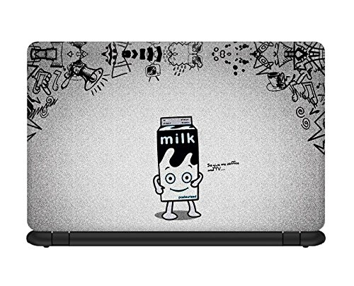 Urban Monk Everyone Needs Coffee and TV Laptop Skin for 17 inches laptop [Compatible for Dell,Asus,Lenovo,Vaio,Samsung,Toshiba and HCL laptops]  available at amazon for Rs.199