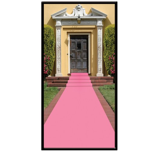 Beistle 50087-P Pink Carpet Runner, 24-Inch by 15-Feet