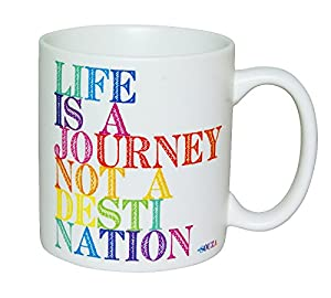 Life Is A Journey Quotable Mug