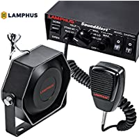 Lamphus SoundAlert SASN01/SASP03 100W Emergency Warning Siren & Slim Speaker PA Systems