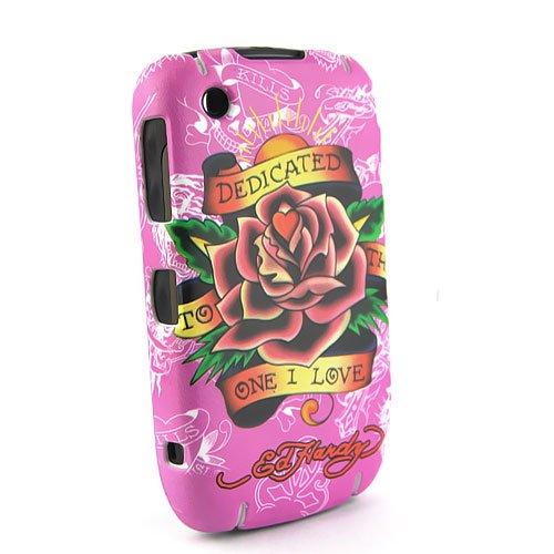 Ed Hardy Tattoo. Textured Love Flower Ed Hardy