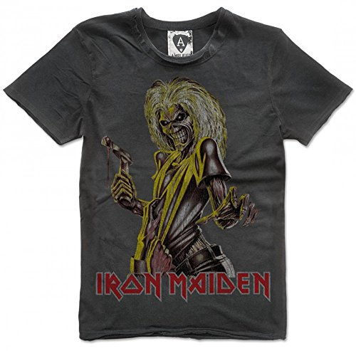 Amplified Iron Maiden Killers TShirt, Größe:XL;Farbe:charcoal Picture