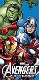 Marvel Avengers assemble cotton towel beach bath towel iron man , hulk, captain america childrens boys 100% official item great gift ideas