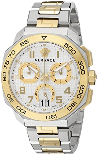 Versace gentles watch Dylos Chrono PVQC03-P0015 PNUL