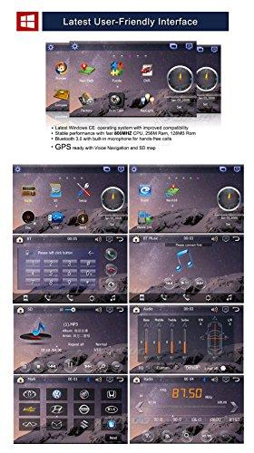 AUDIO-Car-Hifi-2DIN-HD-Radio-7-Auto-GPS-Navigation-Auto-DVD-USB-SD-Spieler-Radio-BT-Bluetooth-Touchscreen-Motors-CAMERA-Deck-Bluetooth-vw-avi-Multi-Media-Receiver-Electronics