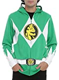 Mighty Morphin Power Rangers Green Ranger Zip Hoodie