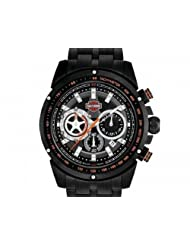 Harley-Davidson® Men's Bracelet Chronograph Watch. 78B121