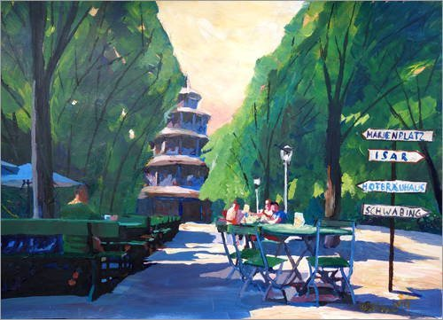 reproduction-sur-toile-80-x-60-cm-munich-chinese-tower-beergarden-with-signpost-de-m-bleichner-repro