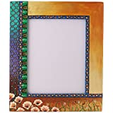 Rang Rage Designer Handpainted Colorful Photo Picture Frame Wall Photoframe Wood Made Home Décor Art Mughal Dusk...