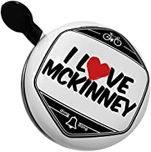 Bicycle Bell I Love McKinney by NEONBLOND