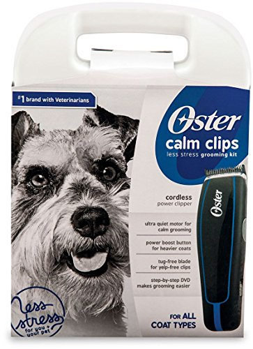 Oster animal care Cordless power advanced clipper kit with case (Black) (Oster Cordless Dog Clippers compare prices)