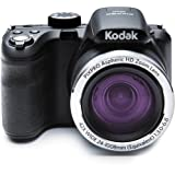 Kodak AZ421 Black 16Digital Camera with 42x Optical Image Stabilized Zoom with 3.0-Inch LCD (Black)