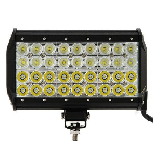 "9"" 108W Led Work Light Bar Cree 7560Lm Waterproof 4X4 4Wd Off-Road Suv Truck Utv Driving Lighting White 6000K (Flood/Spot Beam Combo)"