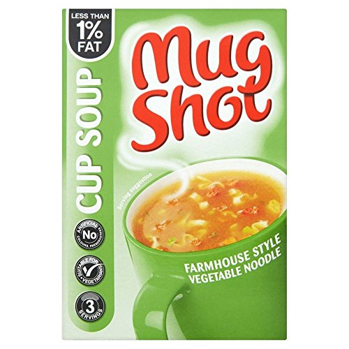 Mug Shot Cup Soup Farmhouse Vegetable Noodle (45G)