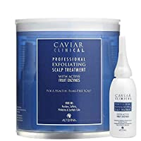 Alterna Caviar Clinical Professional Exfoliating Scalp Treatment With Active Fruit Enzymes - 12 Vials .5 Oz Each