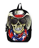 Mojo Cowboy Skull Backpack